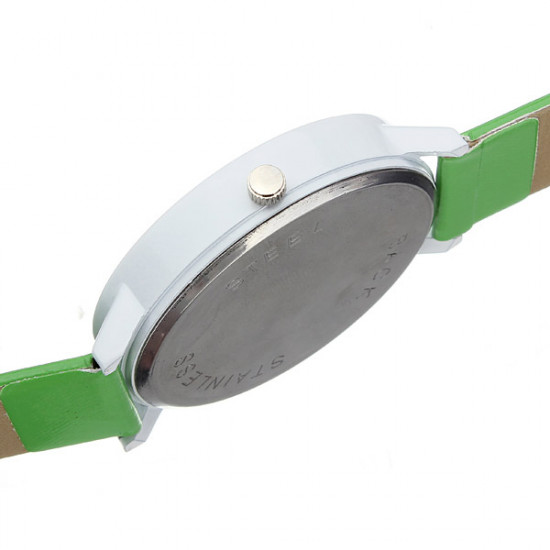 Candy Color Crystal Leather Wrist Watch 2021