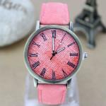 Casual Jean Band Roman Number Women Men Wrist Watch Watch