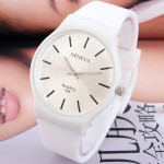 Casual Silicone Jelly Colors Women Quartz Analog Watch Watch