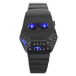 Cobra CF Through Firewire Irregular LED Wrist Watch
