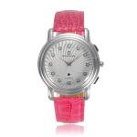 Crystal Leather Wrist Watch Watch