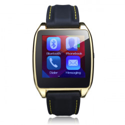 D6 1.54 Inch LCD Pedormeter Smart Phone Watch For Android IOS