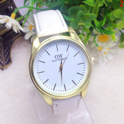 DW Daniel Wellington Printed PU Leather Band Quartz Watch