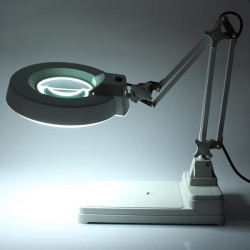 Desktop Magnifier Lamp Electronic Magnifying Glass 220V 22W