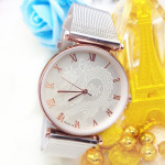 Dragon And Phoenix Stainless Steel Band Couples Watch Watch