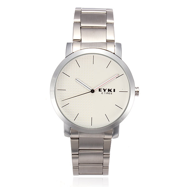 EYKI 8410 Quartz Lovers Couples Leather Simple Style Watch Watch