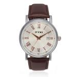 EYKI 8522 Quartz Leather Calendar Roman Dial Watch Watch