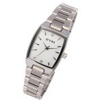 EYKI 8595 Quartz Lovers Stainless Steel Thin Couples Watch Watch
