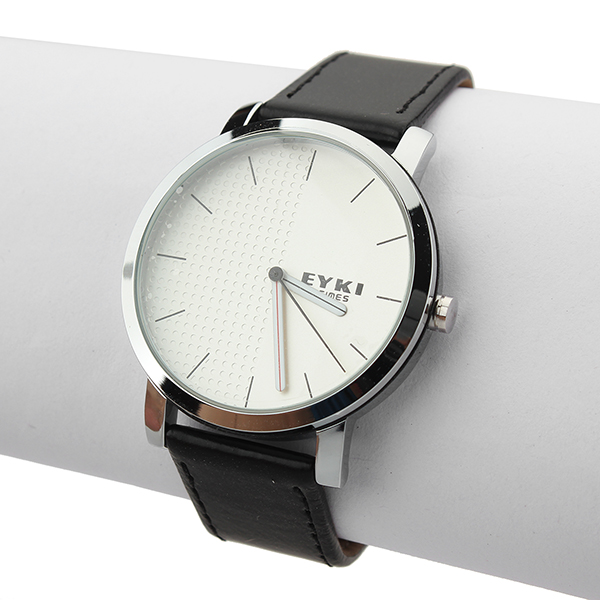 EYKI Brief Leather Analog Fashion Quartz Lovers Wrist Watch Watch