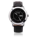 EYKI EET8535G Men Women Stainless Steel Leather Quartz Watch Watch