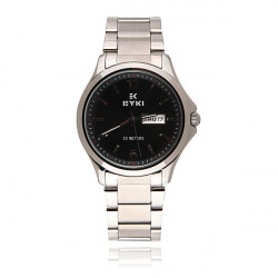 EYKI EETS8592AL Men Women Week Calendar Steel Band Quartz Watch