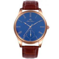 FEIFAN C065-1G Roman Number Leather Band Wrist Watch