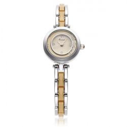 Fashion KIMIO KW509 Silver Bracelet Chain Crystal Women Quartz Watch