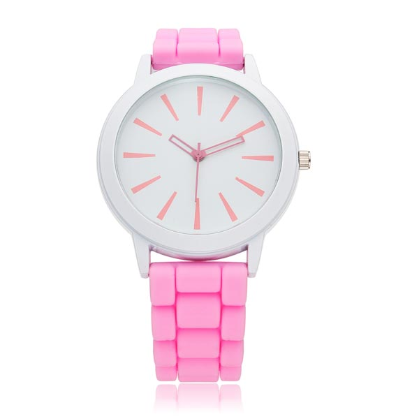 Fashion Silicone Jelly Men Women Children Wrist Quartz Watch Watch