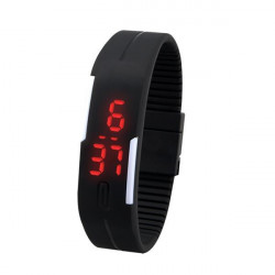 Fashion Touch Screen Waterproof Candy Color Sport LED Watch