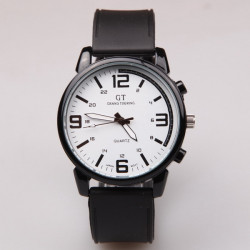 GT 05 GRAND TOUCHING Silicone Band Quartz Analog Sport Watch