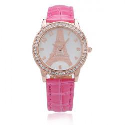 Gogoey Women Rhinestone Quartz Luxury Fashion Watch