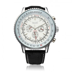 JARAGAR Automatic Mechanical Big Dial Multi Number Precise Watch