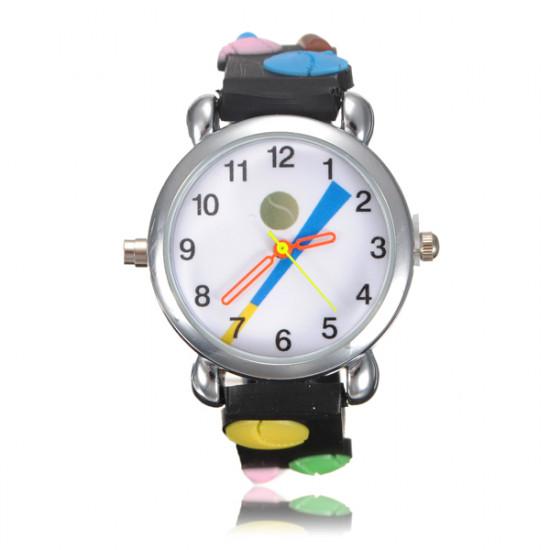 Kid Baseball LED Light Wrist Watch Random Color 2021