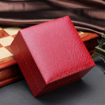 Lichee Pattern Square Hard Cardboard Paper Jewelry  Wrist Watch Box Watch Tools