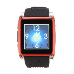 MQ668 MP3/MP4 FM Bluetooth TFT Touch Sreen Mobile Phone Watch