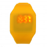 Men Women Casual Silicone LED Touch Screen Digital Wristwatch Watch