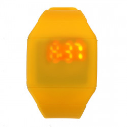 Men Women Casual Silicone LED Touch Screen Digital Wristwatch