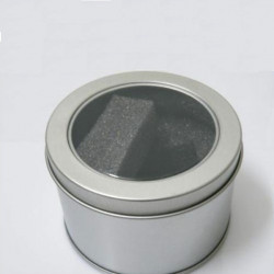 Metal Round Style Gift Wrist Watch Box