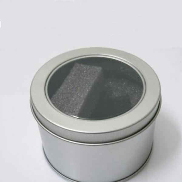 Metal Round Style Gift Wrist Watch Box Watch Tools