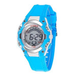 Multi Functional Jelly Candy Color Student Sport Digital Wrist Watch Watch