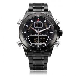 Naviforce NF9022 Military Black Date Dual Display Men Wrist Watch