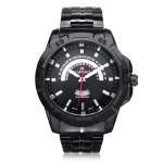 Naviforce NF9027 Military Black Date Week Stainless Steel Men Watch Watch