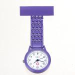 Nurse Brooch Pin Clip Stainless Steel Quartz Pocket Watch Watch