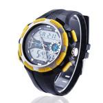 OHSEN AD 1311 Rubber Dual Display Waterproof Sport Men Wrist Watch Watch