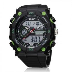 OHSEN AD2812 Sport Day Alarm Dual Display Outdoor Men Wrist Watch