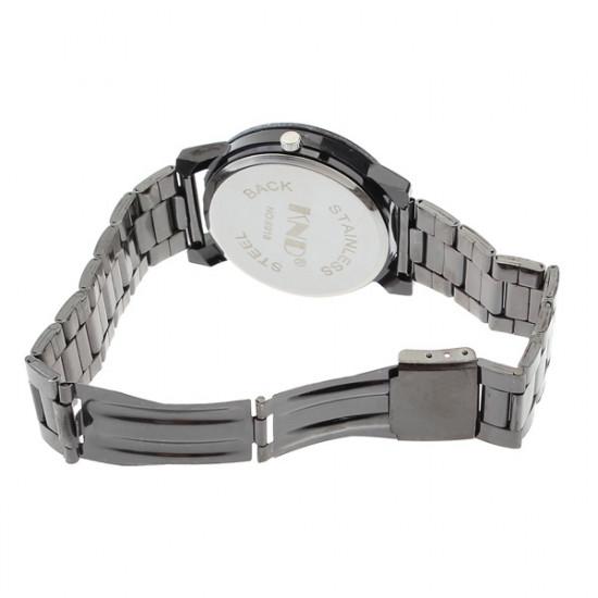 Punk Skull Stainless Steel Men Women Analog Quartz Wrist Watch 2021