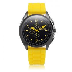 SENJUE 873 Six Colors Silicone Band Quartz Watch