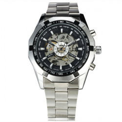 SEWOR Stainless Steel Automatic Mechanical Sport Watch