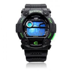 SKMEI 0907 Sport Back Light Week Date Men Women Quartz Wrist Watch