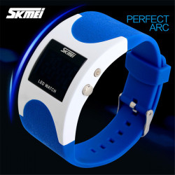 SKMEI 0951 Men Women LED Digital Luminous Waterproof Sport Watch