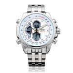 SKMEI 0993 Dual Time Back Light Chronograph Men Quartz Wrist Watch Watch
