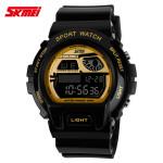 SKMEI 1010 Alarm Waterproof Silicone Band Sport Watch Watch