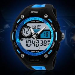 SKMEI 1015 Digital Analog Wtaerproof Quartz Sport Watch