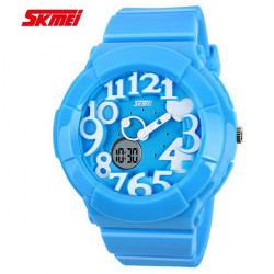 SKMEI 1020 Jelly Silicone Band LED Digital Waterproof Sport Watch