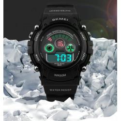 SKMEI 1079 Digital Alarm Silicone Band Waterproof Sport Watch