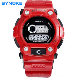 SYNOKE 88888 Digital Luminous Waterproof Sport Watch