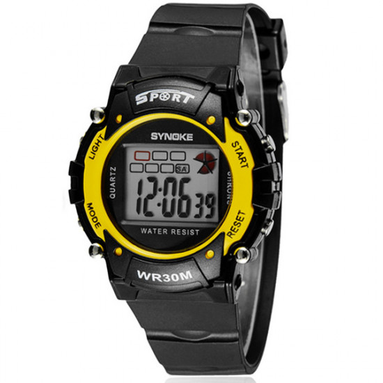 SYNOKE 99038 Child LED Digital Waterproof Sport Watch 2021
