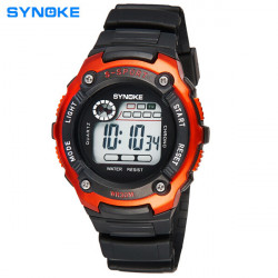 SYNOKE 99589 LED Luminous  Alarm Waterproof Sport Watch