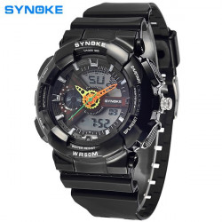 SYNOKE Children Alarm Waterproof Luminous DIgital Sport Watch