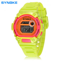 SYNOKE Children Backlight Waterproof Swimming Digital Sport Watch